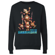 Moana Fear The Kakamora Women's Sweatshirt - Black