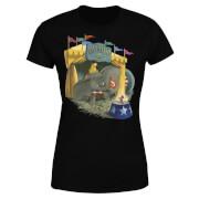 Dumbo Circus Women's T-Shirt - Black