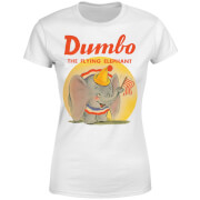 Camiseta Disney Dumbo Flying Elephant - Mujer - Blanco