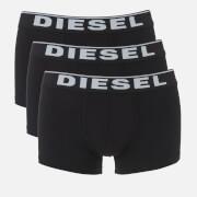 Diesel Men's Damien Three Pack Boxer Shorts - Black