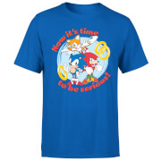Sonic The Hedgehog Now Its Time To Be Serious Herren T-Shirt - Royal Blau