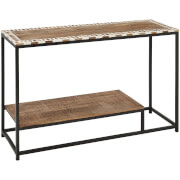 Fifty Five South Artisan Console Table - Mango Wood/Iron