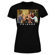 Friends Cast Shot Damen T-Shirt - Schwarz