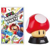 Super Mario Party + Super Mushroom Lamp
