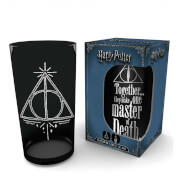 Harry Potter and the Deathly Hallows Large Glass