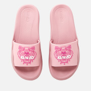 KENZO Women's Tiger Pool Slide Sandals - Pastel Pink