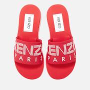 KENZO Women's Papaya Slide Sandals - Medium Red