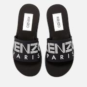 KENZO Women's Papaya Slide Sandals - Black