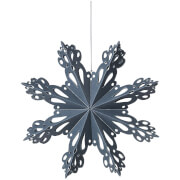 Broste Copenhagen Paper Snowflake Decoration - Small - Orion Blue