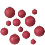 Broste Copenhagen Ammos Christmas Baubles Ammos - Red