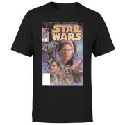Star Wars Classic Comic Book Cover Men's T-Shirt - Black