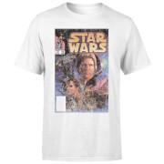 Star Wars Classic Comic Book Cover Men's T-Shirt - White