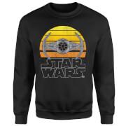Star Wars Sunset Tie Sweatshirt - Black
