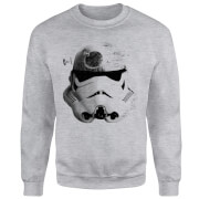 Star Wars Command Stromtrooper Death Star Sweatshirt - Grey