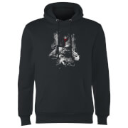Star Wars Boba Fett Distressed Hoodie - Black