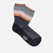 Paul Smith Women's Hatty Black Lurex Socks - Multi