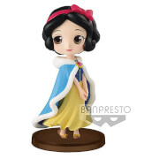 Banpresto Q Posket Petit Girls Festival Disney Snow White Figure 7cm (Winter Dress)