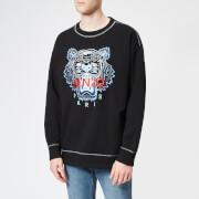 KENZO Men's New Embroider Tiger Sweatshirt - Black