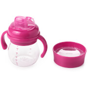 OXO Tot Transitions - Soft Spout Sippy Cup Set 175ml - Raspberry