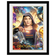 Doctor Who (Universe Calling) 16x12 Framed Collector Print