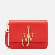 JW Anderson Women's Mini Logo Purse - Scarlet