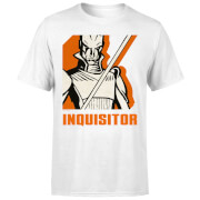 T-Shirt Homme Inquisitor Star Wars Rebels - Blanc