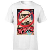 T-Shirt Homme Poster Star Wars Rebels - Blanc
