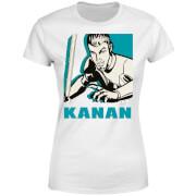 Star Wars Rebels Kanan Women's T-Shirt - White