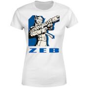 Star Wars Rebels Zeb Women's T-Shirt - White
