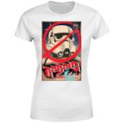 Star Wars Rebels Poster Women's T-Shirt - White