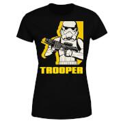 Star Wars Rebels Trooper Women's T-Shirt - Black