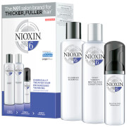 NIOXIN 3-Part System Trial Kit 6 for Chemically Treated Hair with Progressed Thinning