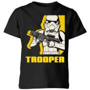 Star Wars Rebels Trooper Kids' T-Shirt - Black