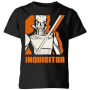 Star Wars Rebels Inquisitor Kids' T-Shirt - Black