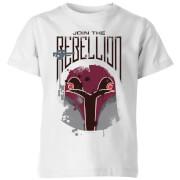 Star Wars Rebels Rebellion Kids' T-Shirt - White