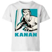 Star Wars Rebels Kanan Kids' T-Shirt - White