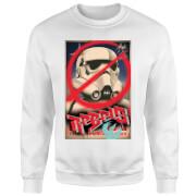 Star Wars Rebels Poster Pullover - Weiß