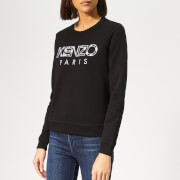 KENZO Women's Fitted Sweatshirt - Black