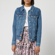 KENZO Women's Trucker Denim Jacket - Ink
