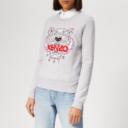 KENZO Women's Tiger Classic Sweatshirt - Pale Grey