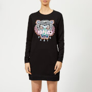 KENZO Women's Tiger Classic Sweatshirt Dress - Black