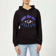 KENZO Women's Eye Hoodie Sweatshirt - Black