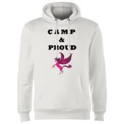 Camp & Proud Hoodie - White