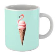 Flamingo Ice Cream Mug