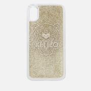 KENZO Women's Glitter Tiger iPhone Case - Gold