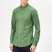 Polo Ralph Lauren Men's Garment Dyed Oxford Long Sleeve Shirt - Stuart Green