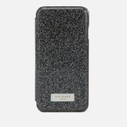 Ted Baker Women's Glitsie Glitter iPhone 8 Mirror Case - Black