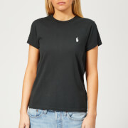 Polo Ralph Lauren Women's Short Sleeve T-Shirt - Black