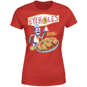 Zavvi Exclusive Rick and Morty Eyeholes Women's T-Shirt - Red