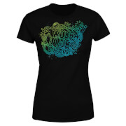 Rick and Morty Wubba Lubba Dub Dub Women's T-Shirt - Black